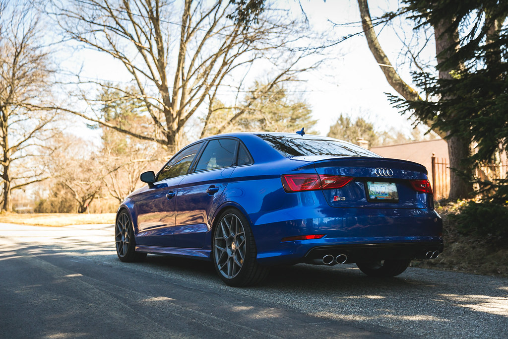 My Sepang Blue Audi S3 Philly Area