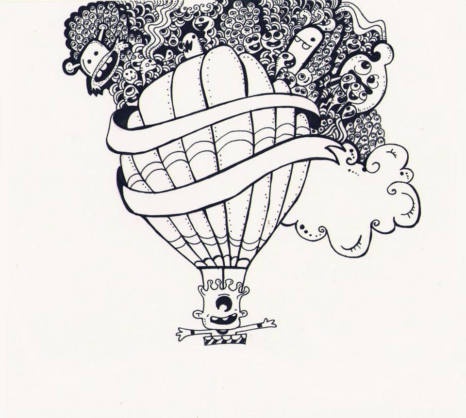 Doodle Desenhos Kheilla Reis Flickr