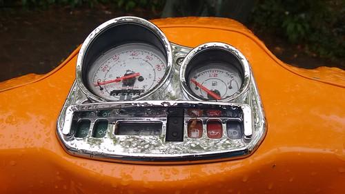 Vespa speedometer