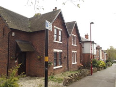 Station Road, Kings Norton - houses