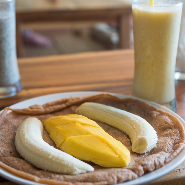 Mango & Banana Pancake | Flickr - Photo Sharing!