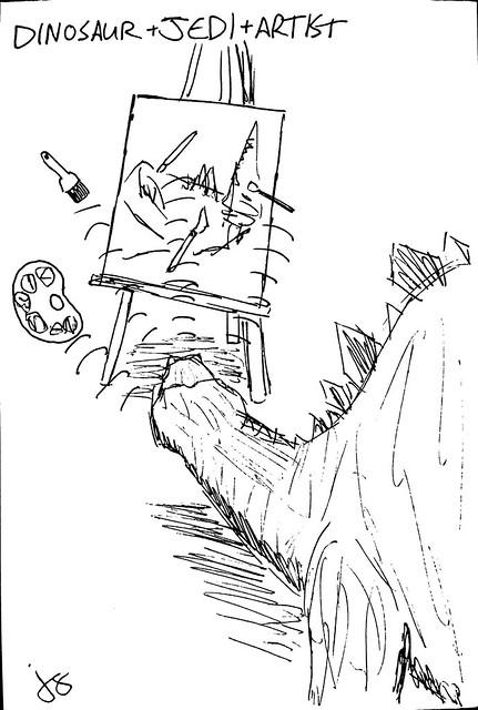 Dinosaur + Jedi + Artist