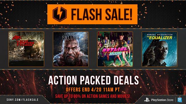 April Flash Sale