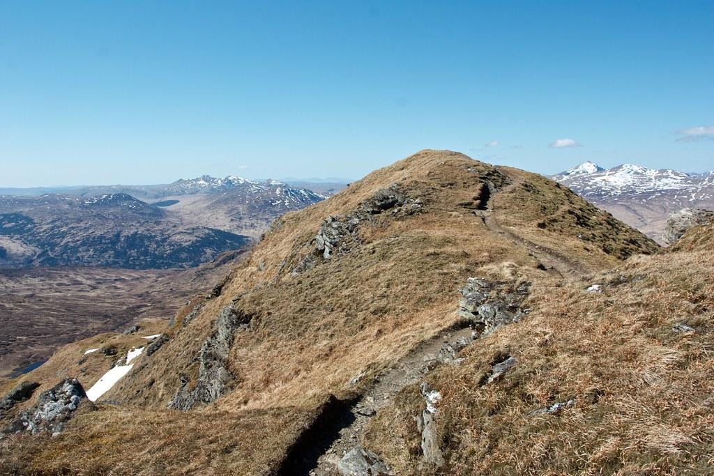 Beinn Chabhair ridge