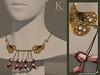 (Kunglers Extra) eliza vendor necklace - rose