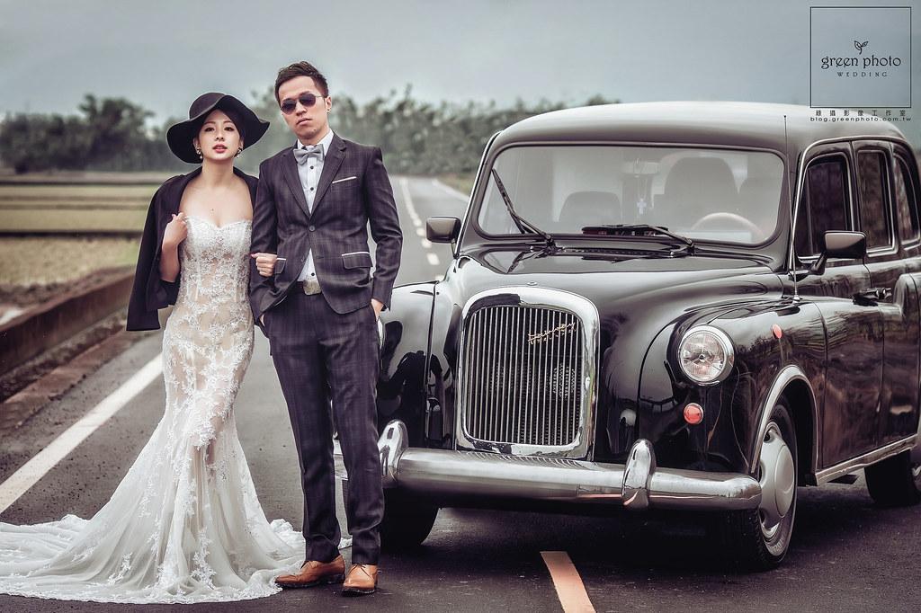 綠攝影像,周上,自主婚紗,自助婚紗,早到幸福,古董車,宜蘭,小城堡makeup,betty,