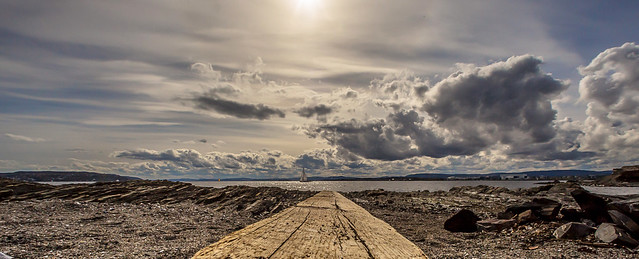 Sunday Afternoon at Huk beach
