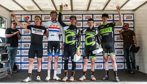 British Cycling MTB Cross-country Series round three, Dalby Forest, May 15 2016 - Elite Men