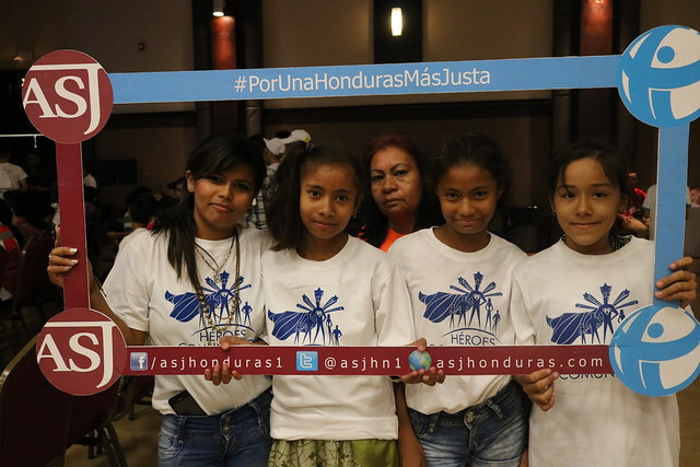 """Premiación """"Héroes comunitarios"""" USAID Honduras"""
