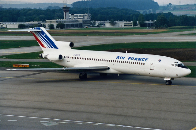 Air France Boeing 727-228 F-BOJB