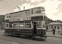 Crich Tramway Museum, Derbyshire.