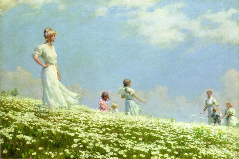 Summer by Charles Courtney Curran - 1906