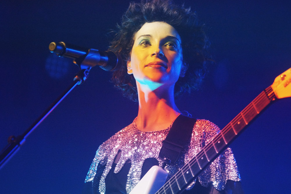 St Vincent @ Upstate Music Hall, NYC 07/03/15