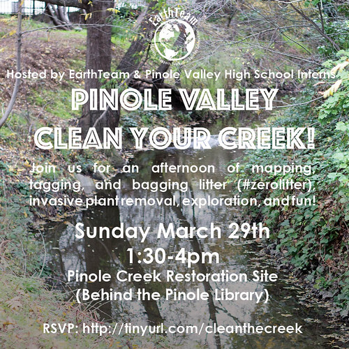March 29 Clean your Creek event square
