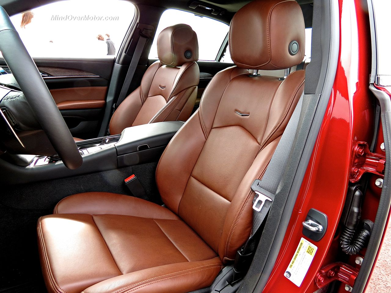 Cadillac CTS Vsport Seats