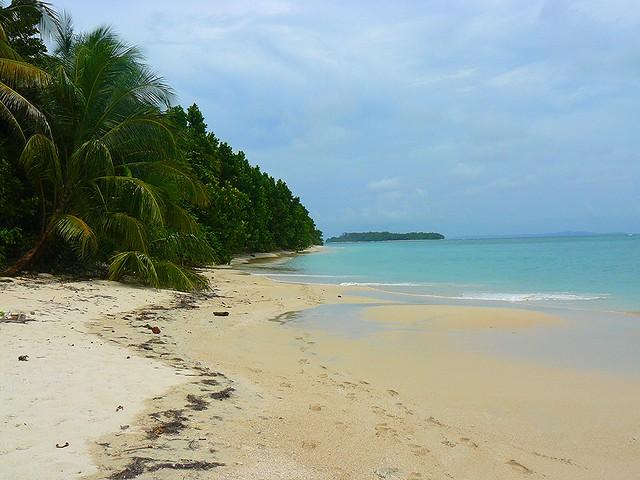 Cayos Zapatillas (islas de Supervivientes en Bocas del Toro)