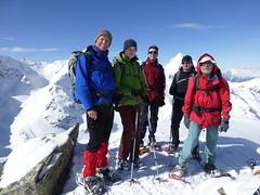 Gipfelphoto auf dem Gipfel des Schartenkopfs