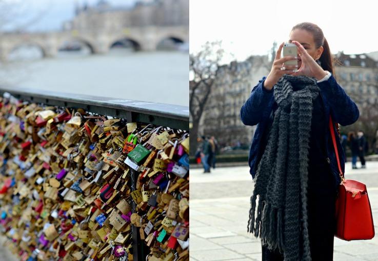 Collage Paris, Lovers Lock Bridge
