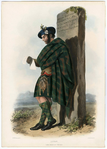 008-Clans_of_the_Scottish_Highlands_1847_Plate_014-The Metropolitan Museum of Art-Thomas J. Watson Library