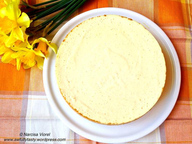 cheesecake cu pere
