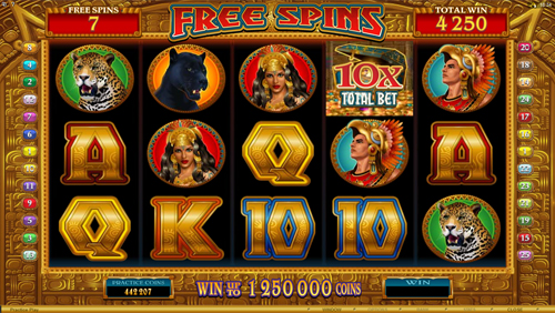 Golden Princess Free Spins