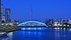 Eitaibashi and Skytree