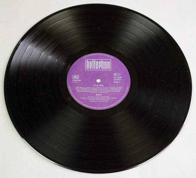 "BITCH FIRST BITE ORIG SWISS 12"" LP VINYL"