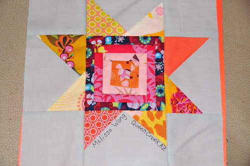 Star Block for Astronaut Quilt