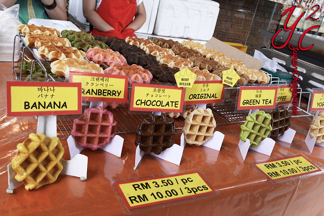 Savoury waffles are available at Markets copy