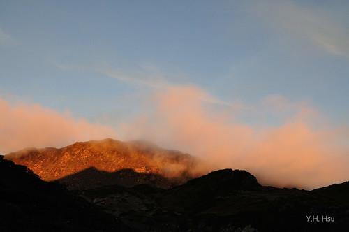 mountain trekking hiking taiwan 台灣 山 健行 南湖 南湖大山 teipei glacialcirque mtnanhu