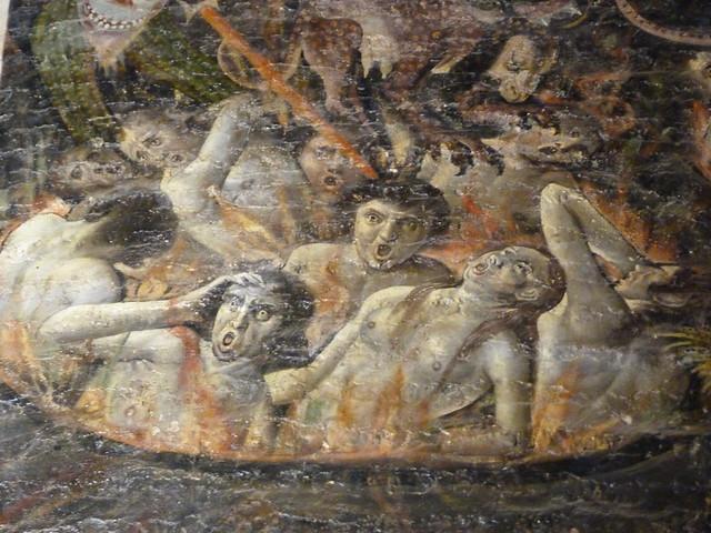 Mural del Juicio Final de la Catedral de Albi (Francia)