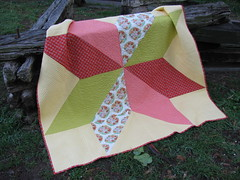 Baby Quilt Ohio Star3