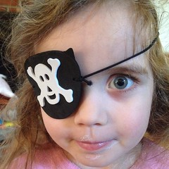 Arrrr!  #yogurtface the #pirate. #blueeyes
