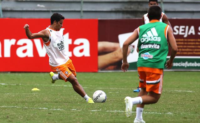 Fluminense: Ricardo Drubscky comanda treino tático na tarde desta quarta, 1, nas Laranjeiras