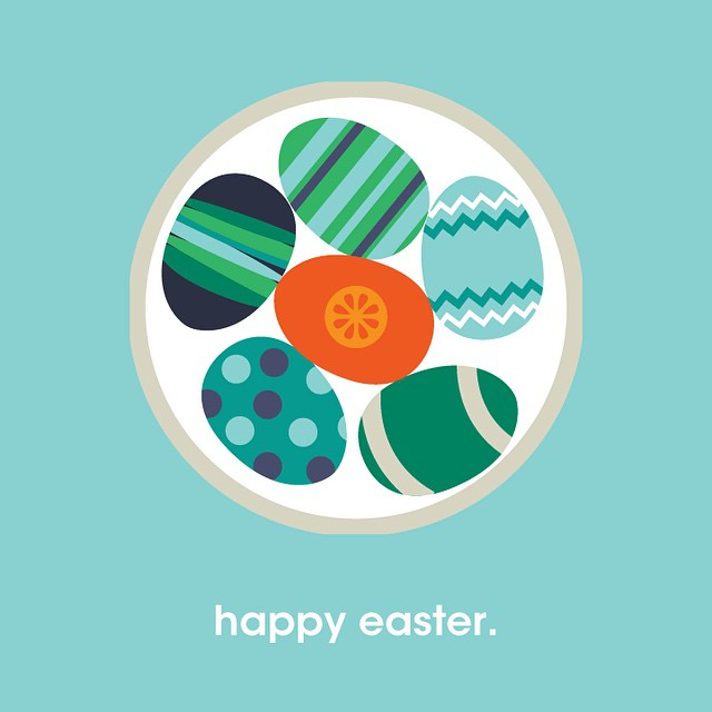 Hope your weekend is filled with eggs, candy, bunnies, friends & family. #tigposterseries #happyeaster