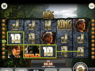 King Kong Mobile slot game online review