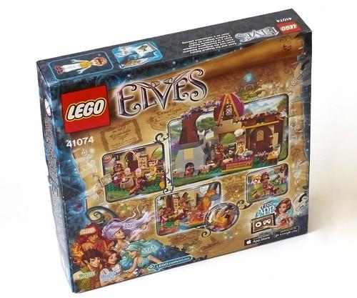 LEGO Elves 41074 Azari and the Magical Bakery box02