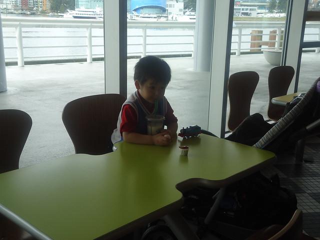 孙儿在温哥华科学馆走失后