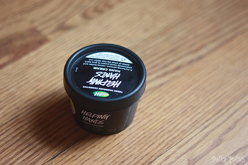 Lush Helping Hands lotion