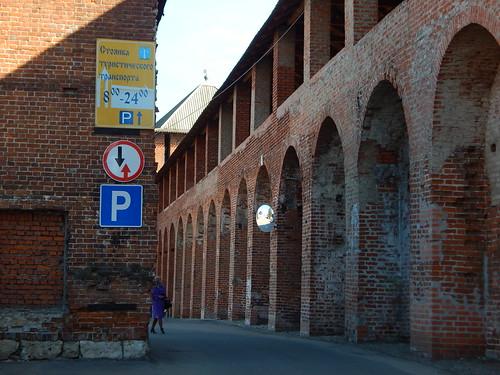 парковка туристического транспорта