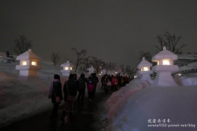 20150214米澤雪燈籠-10米澤雪燈籠-1330229