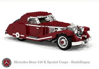 Mercedes-Benz 540K Spezial Coupe - Sindelfingen (1936)