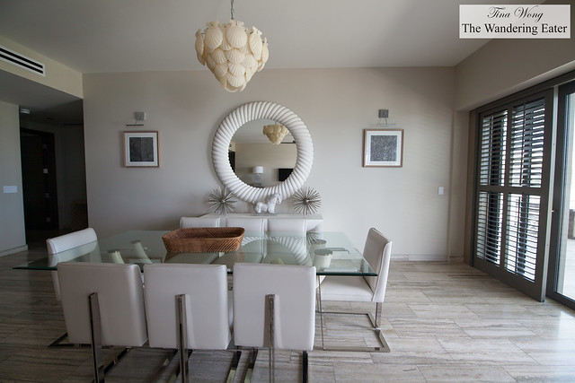 Dining area of Moray Penthouse