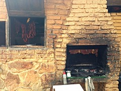 masonry oven, fireplace, brick, brickwork,