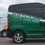 K&E Rör och SATCOM vill synas i trafiken
