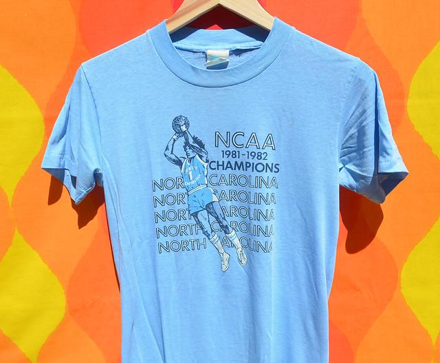 1981 1982 ncaa champions t-shirt