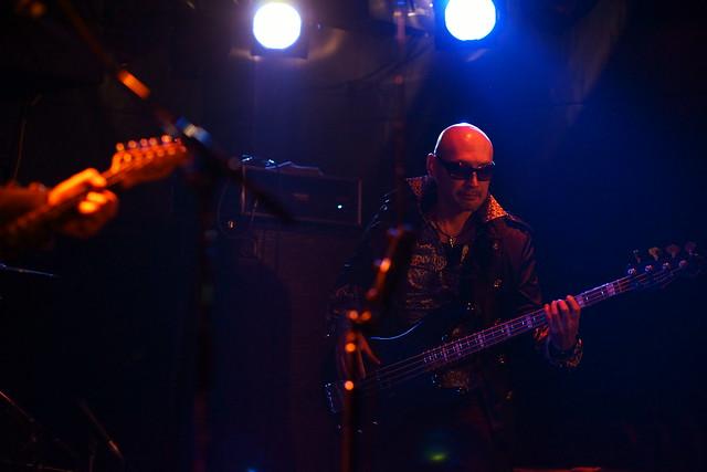 Coal Tar Moon live at Outbreak, Tokyo, 20 Apr 2015. 043