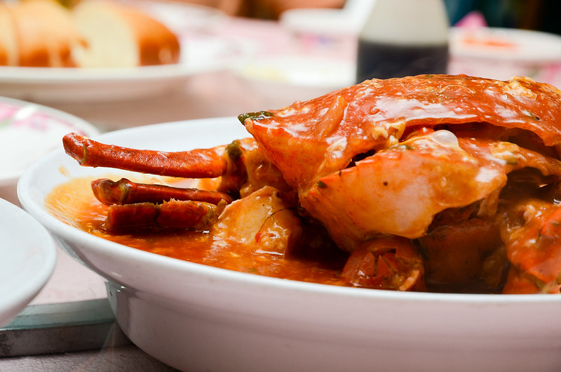 Sweet and Sour crab at Green View Restaurant, Petaling Jaya
