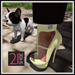 21 Shoe Essenz LosAngeles peach & yellow offer !