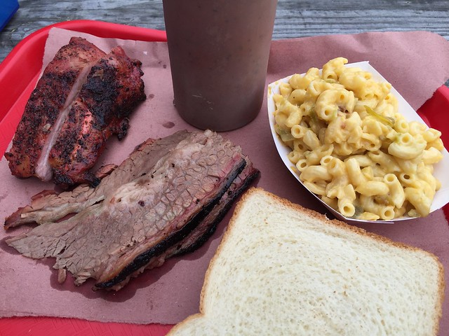 Pork ribs and beef brisket - B&D Ice House